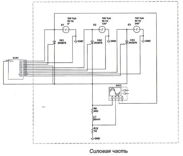 3-х фазный нулевой тиристорный