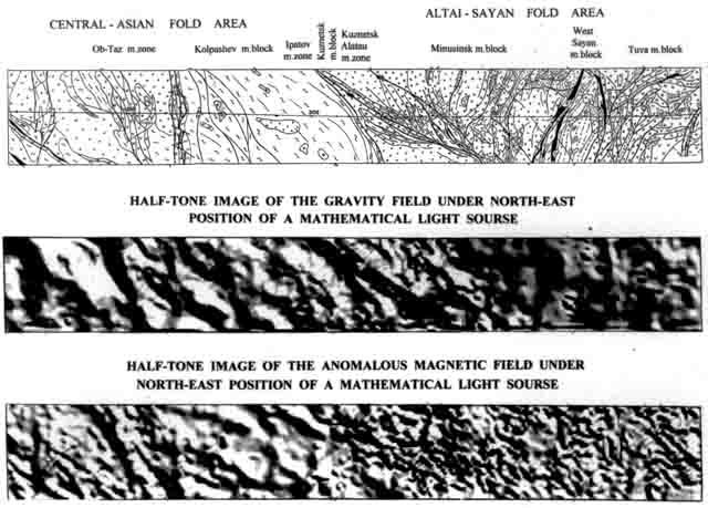 тектонической схемы